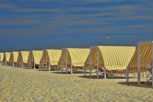 Down The Shore Photograph - Cape May Cabanas 6 by Allen Beatty