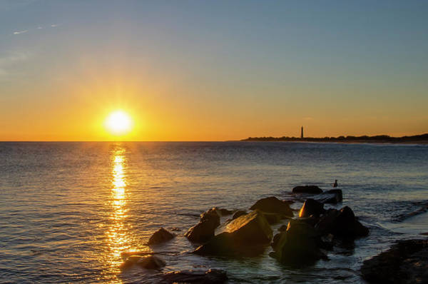 Photograph - Cape May Cove At Sunset  by Bill Cannon