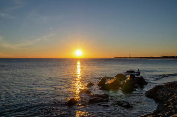 Photograph - Cape May Cove At Sunset - New Jersey by Bill Cannon