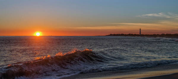 Photograph - Cape May Cove At Sunset Panorama by Bill Cannon