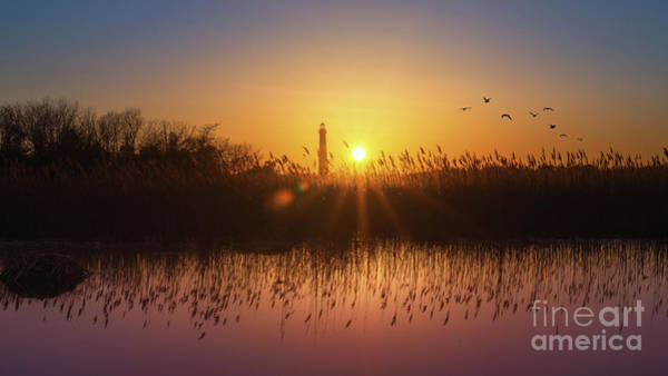 Cape May Wall Art - Photograph - Cape May Light Panorama  by Michael Ver Sprill