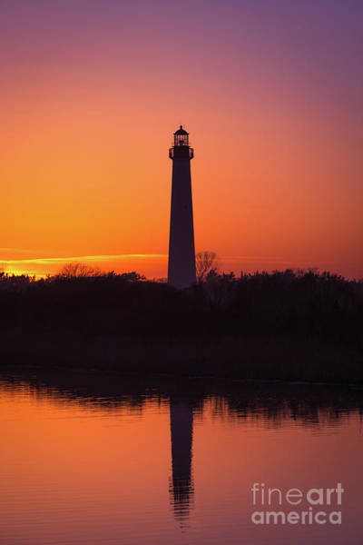 Cape May Lighthouse Photograph - Cape May Lighthouse Reflections by Michael Ver Sprill
