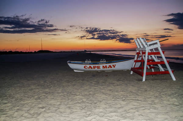 Digital Art - Cape May New Jersey - On The Beach Before Sunrise by Bill Cannon