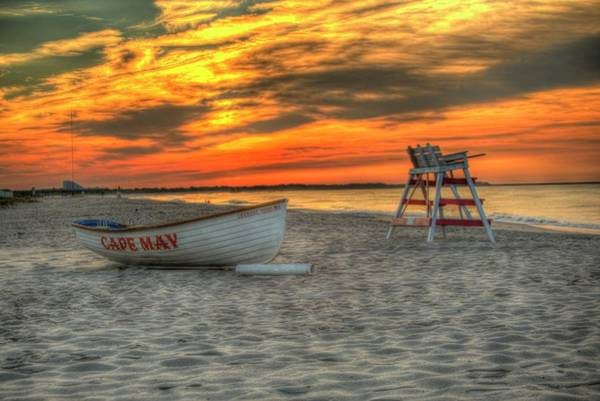 Wall Art - Photograph - Cape May New Jersey Sunrise Let There Be Light by Geraldine Scull