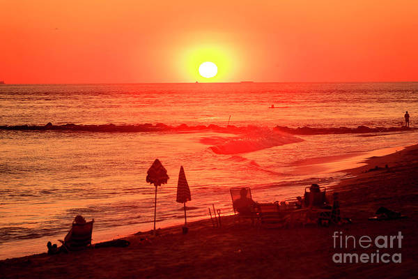 Photograph - Cape May Sunset View by John Rizzuto