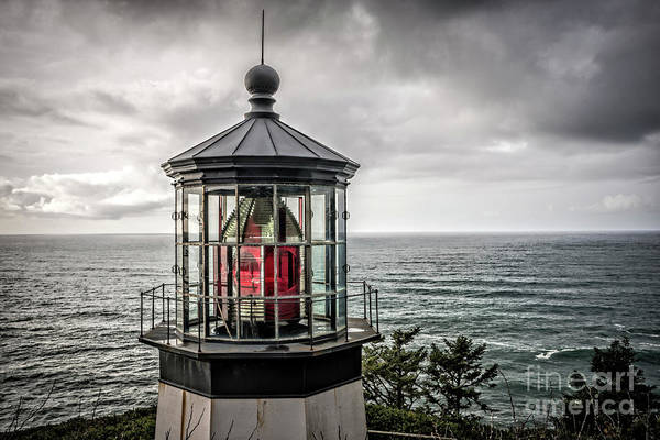Photograph - Cape Meares Lighthouse by Craig Leaper