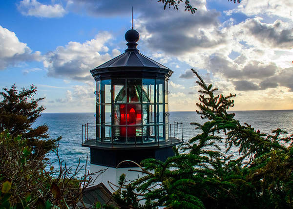 Wall Art - Photograph - Cape Meares Lighthouse by Lincoln  Weaver
