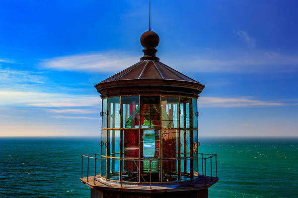 Photograph - Cape Meares Lighthouse by Rick Berk