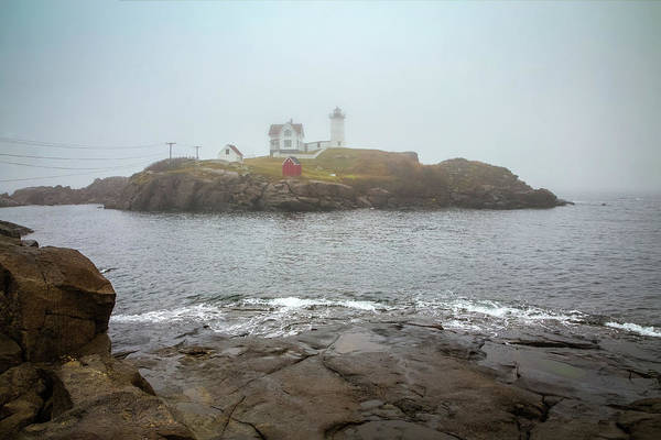 Wall Art - Photograph - Cape Neddick Light by Tom Weisbrook