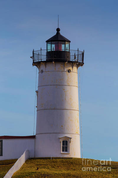 Photograph - Cape Neddick Nubble Lighthouse by Edward Fielding