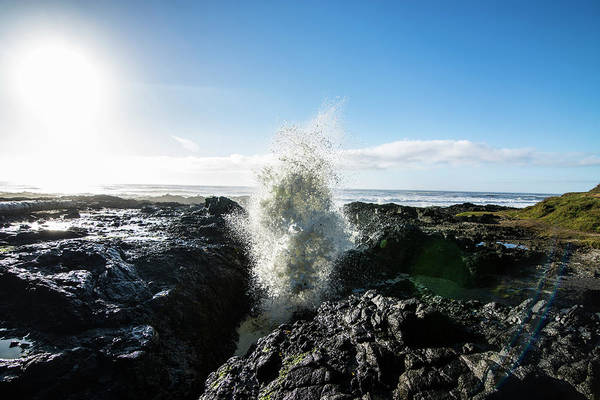 Cape Perpetua Wall Art - Photograph - Cape Perpetua Crashing Wave by Pelo Blanco Photo