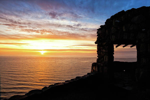 Photograph - Cape Perpetua Sunset by Lara Ellis