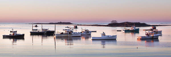 Kennebunkport Maine Photograph - Cape Porpoise Harbor Panorama by Eric Gendron