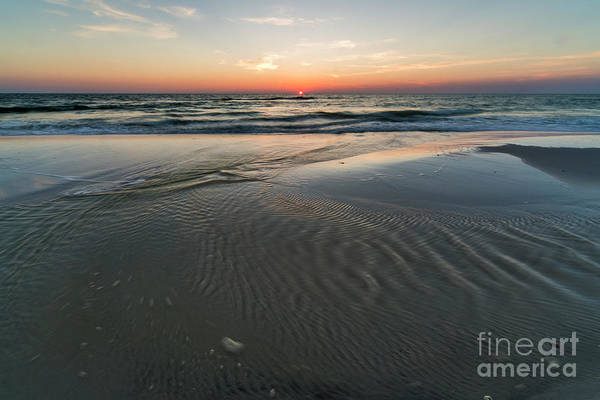 Port St. Joe Photograph - Cape San Blas Beach At Sunset by Twenty Two North Photography