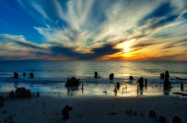 Wall Art - Photograph - Cape San Blas Sunset by Rich Leighton