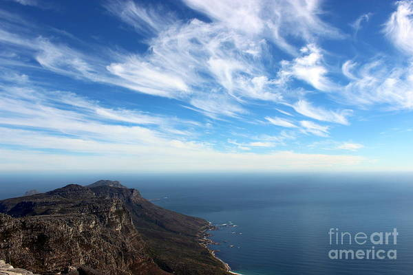 Wall Art - Photograph - Cape Town Swirls by Hanni Stoklosa