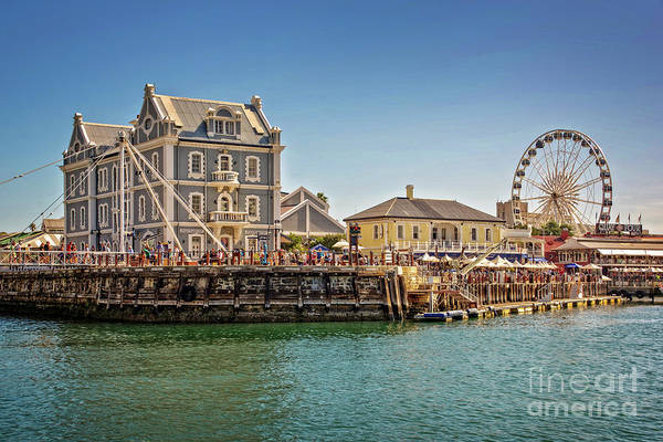Wall Art - Photograph - Cape Town Waterfront by Delphimages Photo Creations