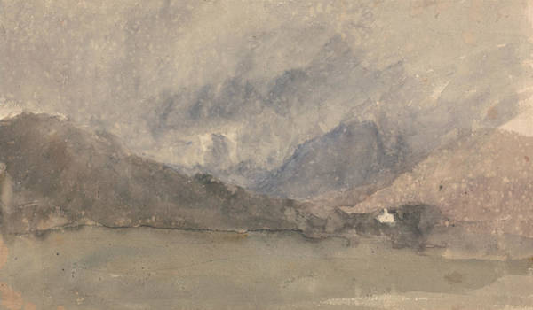 Painting - Capel Curig, Caernarvonshire, Wales by David Cox