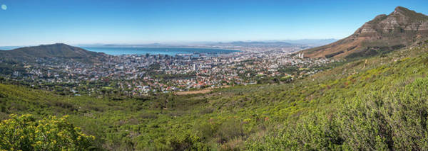 Wall Art - Photograph - Capetown Panorama by Mike Walker