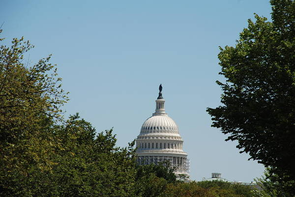 Photograph - Capital Building by Kenny Glover