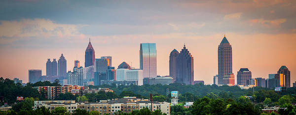 Georgia Power Company Photograph - Capital Of The South Atlanta Cityscape Art by Reid Callaway