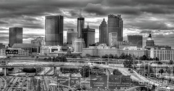 Georgia Power Company Photograph - Capital Of The South Atlanta Georgia Art by Reid Callaway