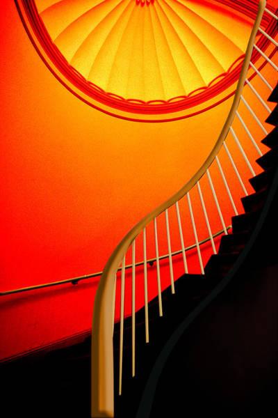 Capital Stairs Art Print