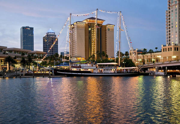 Photograph - Capitan Miranda In Tampa by Steven Sparks