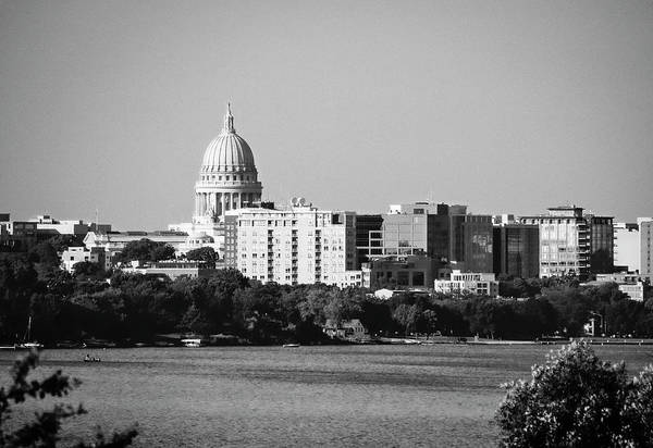 Photograph - Capitol 5 - Madison - Wisconsin by Steven Ralser