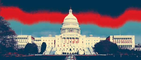 Photograph - Capitol, Building by Artistic Panda