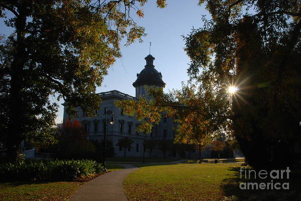 Photograph - Capitol Building Columbia South Carolina by Susanne Van Hulst