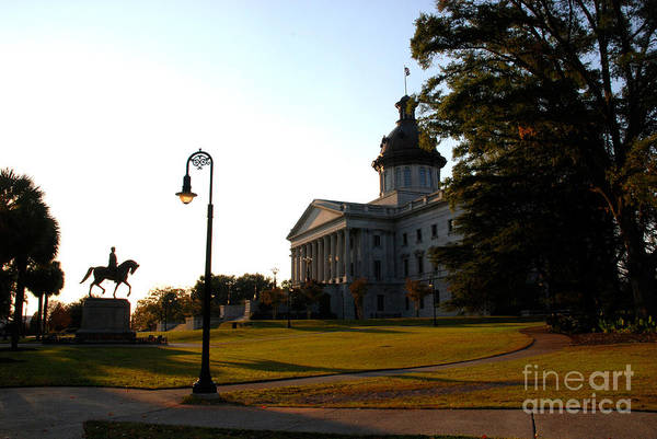 Photograph - Capitol Building In Columbia South Carolina - 2 by Susanne Van Hulst