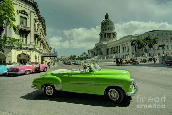 Wall Art - Photograph - Capitol Convertable  by Rob Hawkins