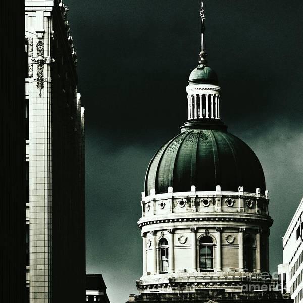 Photograph - Capitol Dome - Indiana by Jenny Revitz Soper