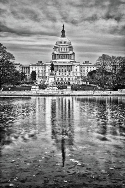 Photograph - Capitol Hill Pond by Val Black Russian Tourchin