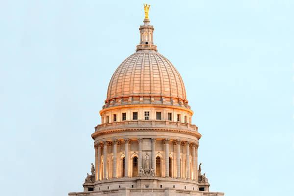 Legislature Photograph - Capitol Illumination by Todd Klassy