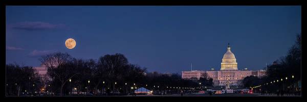 Wall Art - Photograph - Capitol New Year by Robert Fawcett