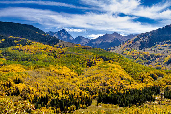 Photograph - Capitol Peak In Fall Color by Teri Virbickis