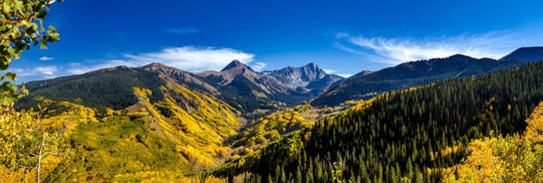 Photograph - Capitol Peak Valley Panorama by Teri Virbickis