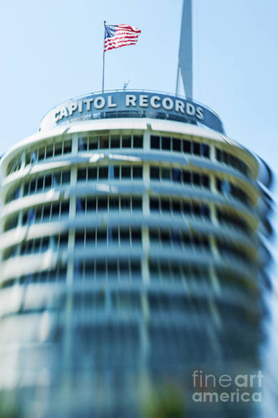 Wall Art - Photograph - Capitol Records Building 14 by Micah May