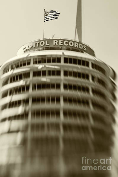 Wall Art - Photograph - Capitol Records Building 15 by Micah May