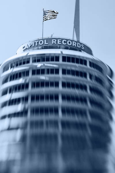 Wall Art - Photograph - Capitol Records Building 16 by Micah May