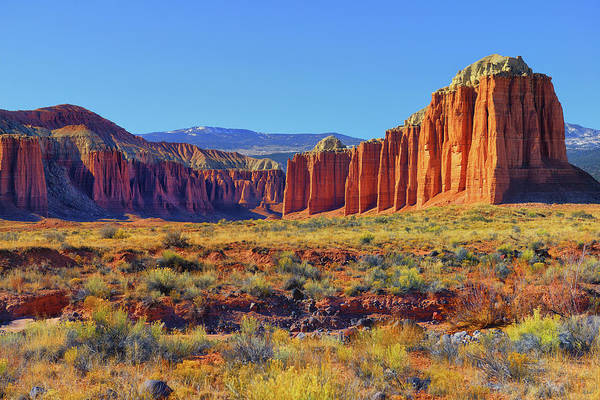 Photograph - Capitol Reef Cathedral Valley by Greg Norrell