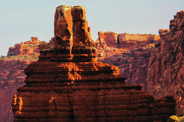 Wall Art - Photograph - Capitol Reef Spires by Mitch Cat
