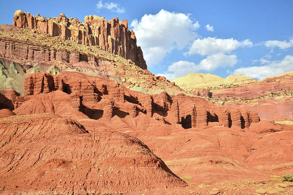 Photograph - Capitol Reef's Castle by Ray Mathis