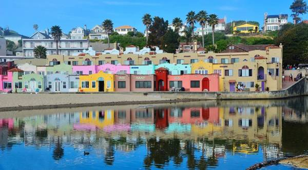 Photograph - Capitola California Colorful Hotel by Marilyn MacCrakin