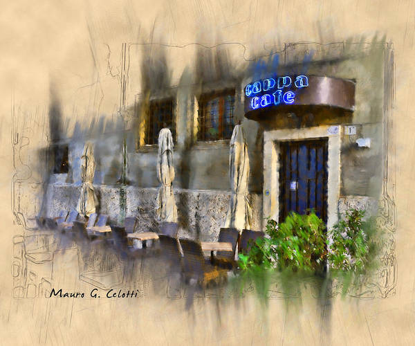 Pyrography - Cappa Cafe by Mauro Celotti