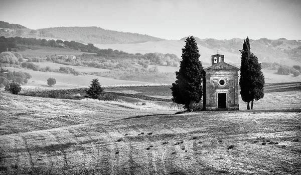 Scenery Wall Art - Photograph - Cappella Della Madonna Di Vitaleta Church by Michalakis Ppalis
