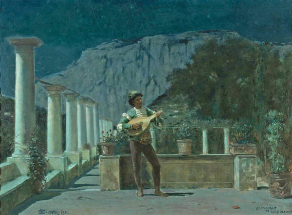 Painting - Capri 2 by Charles Caryl Coleman