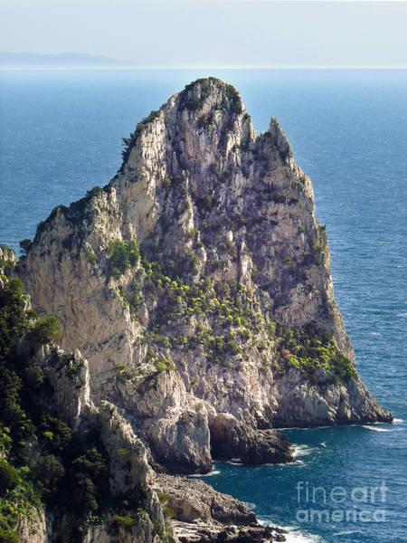 Photograph - Capri Cliff by Lutz Baar